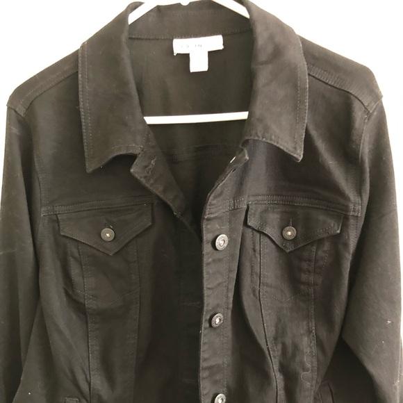 Style & Co Jackets & Blazers - Black jean jacket